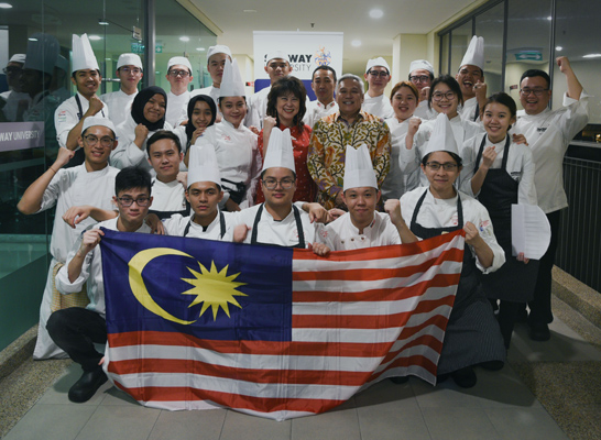 First Malaysia Junior National Culinary Team